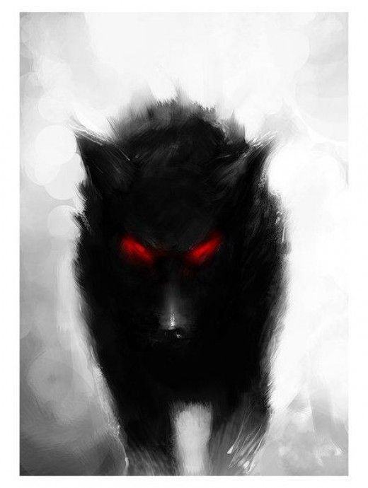 4153dc6217356f3b4068cfbdfffd2446--demon-wolf-black-wolves